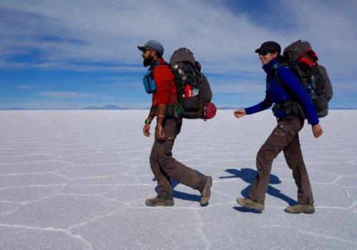 Voyage en marche, 7 000 km à pied autour du monde 14h