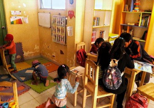 Leer el mundo, projet en Bolivie - 21h